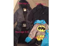Boys bundle coats age 4 and 5-6