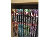 Cirque de freak darren shan 12book collection