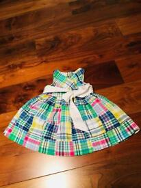 Ralph Lauren baby girl dress, 9 months