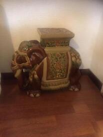 Side table, animal elephant
