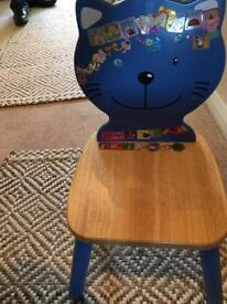 Table & two chairs (Children's )