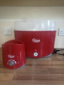 Red sterilizer n warmer