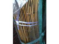 4m long roll of 1.5m high bamboo cane screening
