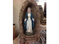 Our lady in grotto (solar) £200