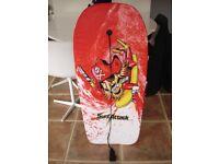 Surfing Body Board