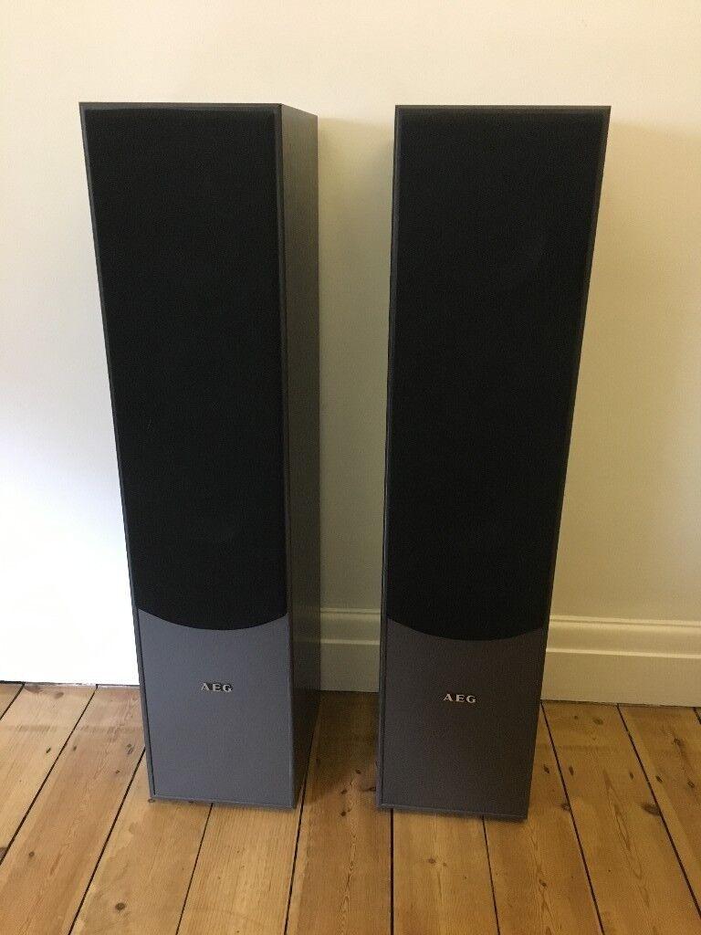 High-quality AEG LB 4711 Stand Speakers 500 Watt Black | in Kings Cross,  London | Gumtree