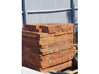 600 73mm carlton red rustic bricks