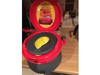 Disney Cars Musical Potty Chair - 3 in 1