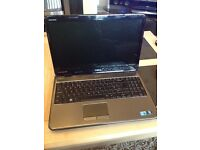 Dell Inspiron Laptop, Smooth Metallic Chrome 3gb hard drive 500. Great feel to it whilst using it.