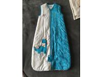 Grow bag sleeping bag 6-18months