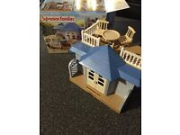 Sylvanian Families Summer house and Day at the Seaside sets