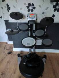 Roland HD-3 Compact Drum Kit + Drum Stool + Sennheiser Headphones