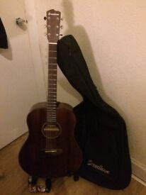 Breedlove Pursuit Dreadnought Mahogany Acoustic-Electric Guitar Mahogany Top
