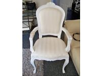 Chair french Louis style bedroom