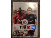 Wii FIFA 12 game for sale