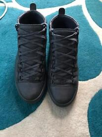 Balenciagia Arena High Tops Grey Size 8