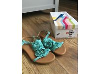 SANDALS TURQUOISE FROM OFFICE