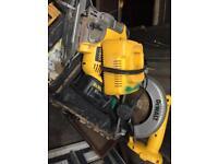 De-Walt cordless jigsaw and circular saw
