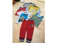 2-3 years clothes - Minions bundle
