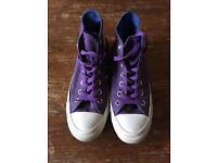 Converse - Purple Hi Tops