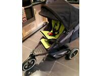 PHIL&TEDS double buggy