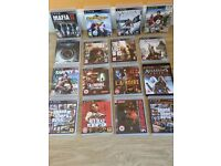 16 PS3 Games all boxed