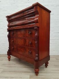 Antique Scotch Chest Of Drawers (DELIVERY AVAILABLE FOR THIS ITEM OF FURNITURE)