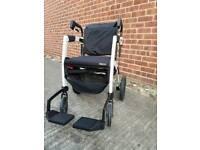 Rollz Motion 2 in 1 Rollator Wheelchair