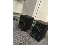 Mackie CR4 monitors, great condition