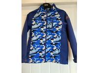 Boys blue camo jacket