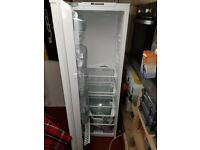 Integrated larder fridge **brand new**