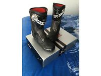 TCX S-SPEED mens motorcycle bike boots size 9 boxed and barely used