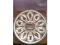 Wedgwood Shakespeare Characters All The World's A Stage commemorative plate