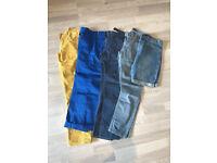 """Men's Trouser and shorts bundle 32"""" waist. Levi's and Topman.Excellent condition"""