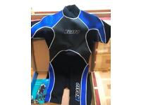 Brand new shorty wet suit