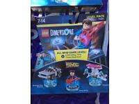 Lego dimensions level pack Back to the future
