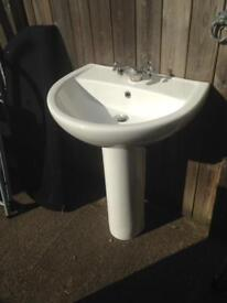 Bathroom SinSink with tap
