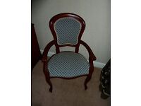 Rossmore Carver Chairs - Cherry wood x2