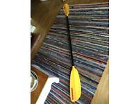 Werner skagit fb. 2 piece kayak paddle