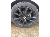 """Wanted 18"""" alloy wheel black for Vauxhall Astra SRI"""