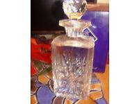 Edinburgh Crystal decanter - Star of Edinburgh £99.00 ono