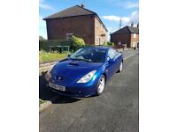 Good condition toyota celica start and drive long mot price 365 o.n.o