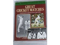 BBC Radio Collection of Cricket Audio Cassette Tapes