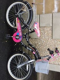 """Monster High 16"""" bicycle."""