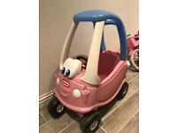 Little tikes Car coupe pink