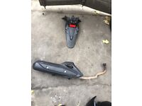 Honda pcx 125 exhaust £60