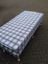 Pair of single beds with matresses