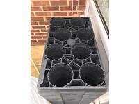 60x plant pot trays (Polegate)