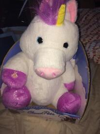 Brand new unicorn app teddy