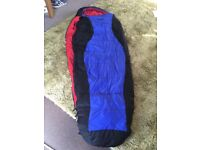Mummy sleeping bag lovely and warm